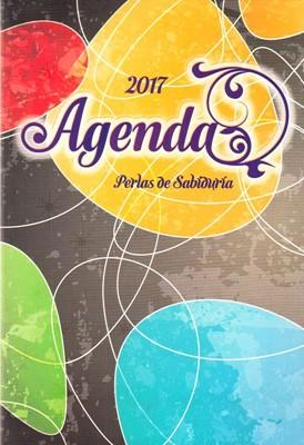 Agenda Perlas de Sabiduría 2017 Colores Brillantes (Rústica Solapas) [AGENDA]