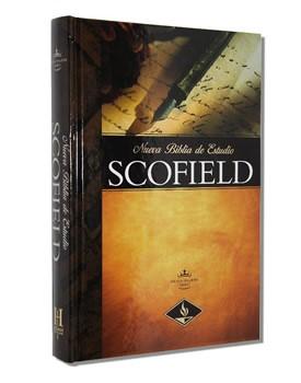 Biblia De Estudio Scofield RVR (Tapa Dura)