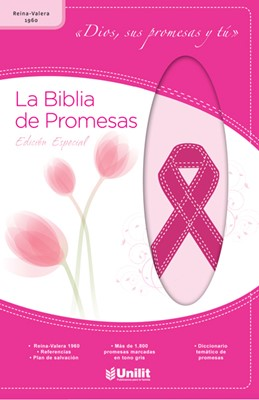 Biblia de Promesas RVR60 Edición Cáncer de Mama