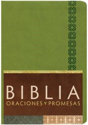 Biblia RVC Oraciones y Promesas con Índice (Imitación Piel Verde Manzana) [Biblia]