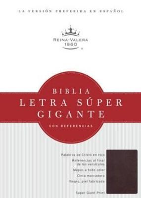 Biblia Reina Valera Letra Súper Gigante (Imitación Piel Borgoña)