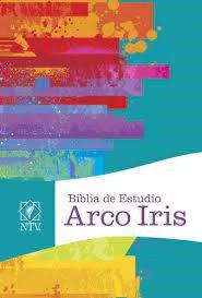 Biblia De Estudio Arco Iris - Frambuesa (Simil Piel)