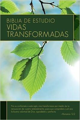 Biblia de Estudio Vidas Transformadas (Tapa Dura)