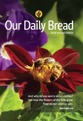 Our Daily Bread 2018 Annual (Rústica)