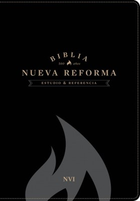 Biblia de Estudio Nueva Reforma-Piel Italiana Negro (CUERO ITALIANO NEGRO)