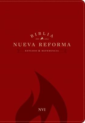 Biblia de Estudio Nueva Reforma - Piel italiana roja (Piel italiana)