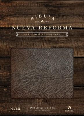 Biblia de Estudio Nueva Reforma - Cuero