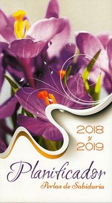 AGENDA BOLSILLO PRATS ORQUIDEA 2018-2019