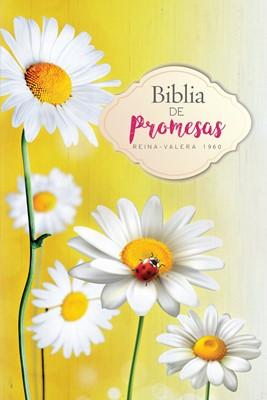 Biblia de Promesas Económica Mujeres Flores (Rústica)