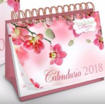 Calendario Escritorio 2018 Mujeres Anillado (Tapa dura con espiral)