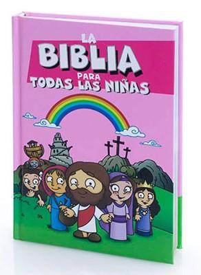 Biblia Abba CLC NIÑAS (Tapa Dura)