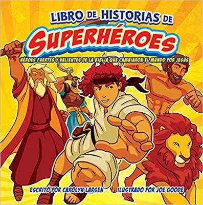 Libro de Historia de Superheroes (Rústica)