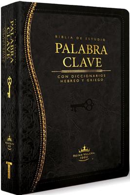 Biblia de Estudio La Palabra Clave (Negro) (Piel Italiana)