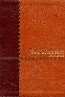 RVR 1960 Biblia de Estudio Diario Vivir Nueva Edición (Simil Piel, café)