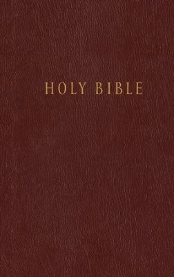 NLT Pew Bible (Hardcover Burgundy)