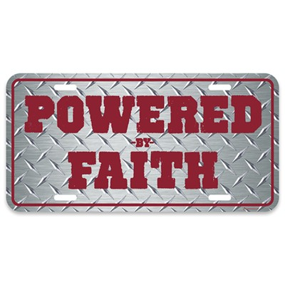 PLACA  POWERED BY FAITH