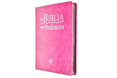 B - SBU RVR086L LG BIBLIA PREDICACION PURPURA