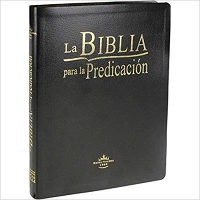 B - SBU RVR087L LG BIBLIA PREDICACION NEGRA