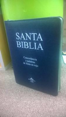 Biblia con Concordancia / Jean / Letra Grande (Jeans)