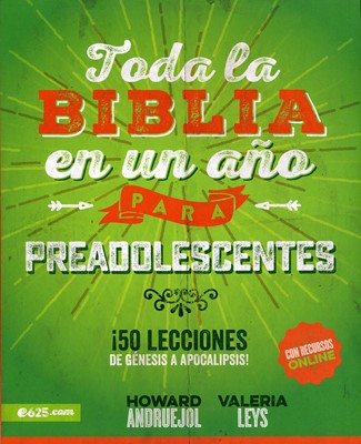 Toda La Biblia En Un Año Para Preadolescentes (Rústica)