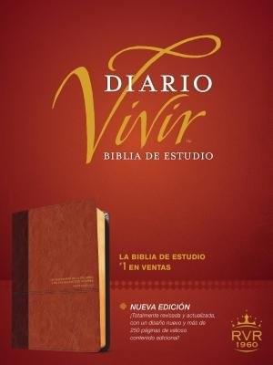 Biblia De Estudio Del Diario Vivir RVR60. Duotono