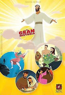 NTV Biblia Interactiva La Gran Historia (Tapa Dura)