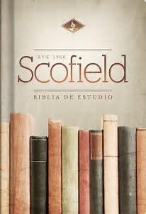 Rvr 1960 Biblia De Estudio Scofield.  Tapa Dura (Tapa Dura)