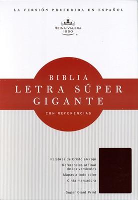 RVR 1960 Biblia Letra Super Gigante. (Imitación Piel, Negro)
