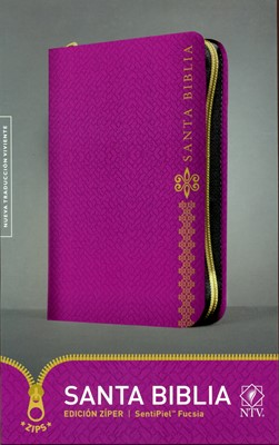 NTV Biblia Edición Zíper (Imitation Leather, morado)