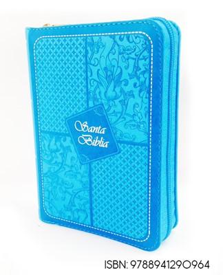 Biblia Concordancia Indice Lila Azul