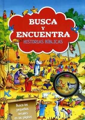 Busca Y Encuentra Las Historias Biblicas (Tapa Dura)