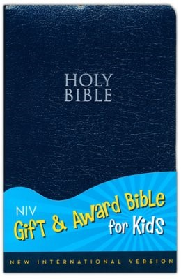 NIV, Gift and Award Bible for Kids (Leathersoft, Navy)