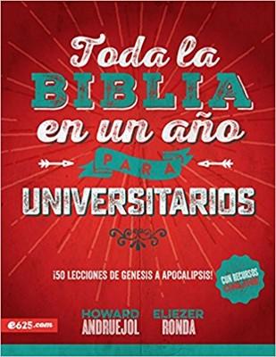 Toda la Biblia en un Año para Universitarios (Rústica)