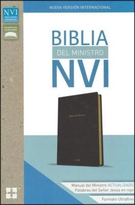 Biblia Del Ministro NVI (Simil Piel)