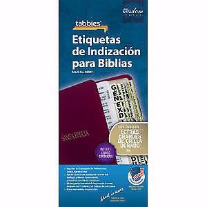 Etiquetas De IndizaciÓN Para Biblias/Arco Iris - Swanson