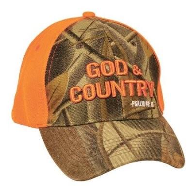 Gorra Gods & Country Naranja