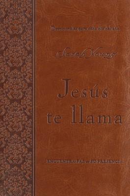 Jesús te llama - Edición lujo (Piel café)