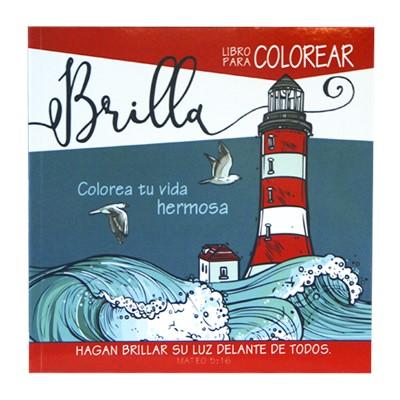 Brilla Libro De Colorear (Rústica)