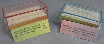 Caja de Promesas Palabra Fiel (Caja Acrílica)