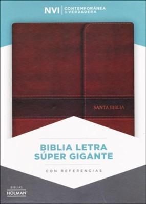NVI Biblia Letra Súper Gigante con Cierre (Imitation Leather)