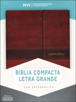 NVI Biblia Compacta Letra Grande con Índice (Imitation Leather)