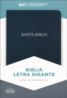 NVI Biblia Letra Gigante con solpa y con Imán (Bonded Leather)
