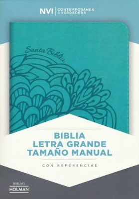 NVI Biblia Letra Grande Tamano Manual (Imitation Leather)