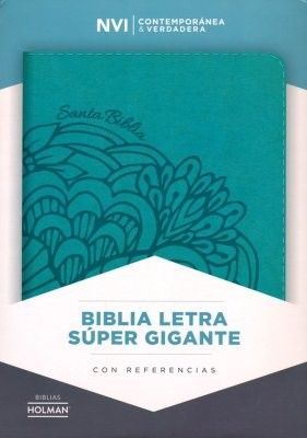 NVI Biblia Letra Súper Gigante  con Índice (Imitation Leather)