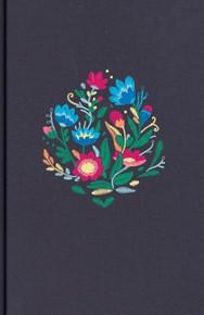 NVI Biblia Letra Súper Gigante con Índice (Azul bordado sobre tela)