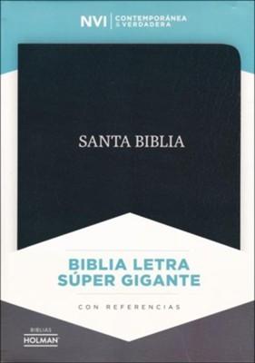 NVI Biblia Letra Súper Gigante (Bonded Leather)