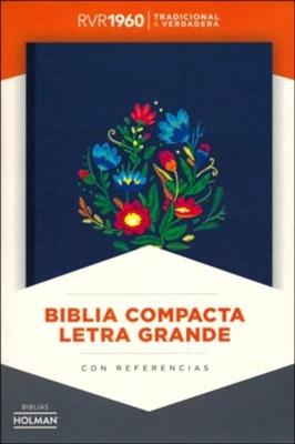 RVR 1960 Biblia Compacta Letra Grande (Hard Cover)
