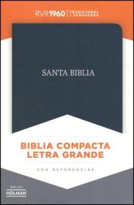 RVR 1960 Biblia Compacta Letra Grande con Índice (Bonded Leather)