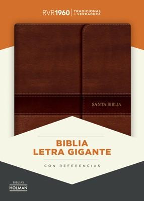 RVR 1960 Biblia Letra Gigante con Índice (Símil piel con solapa y con imán)