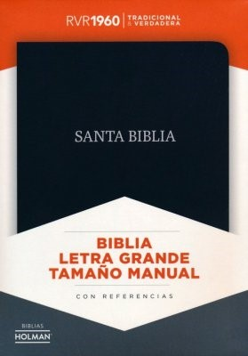 RVR 1960 Biblia Letra Grande Tamaño Manual (Imitation Leather)